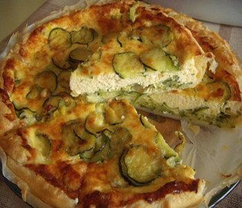 torta salata porri zucchine