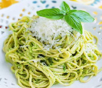 spaghetti allavocado