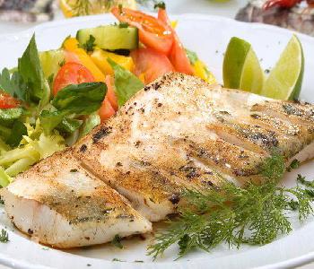 pesce persico alle verdure