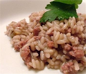 risotto con salsiccia (bimby)