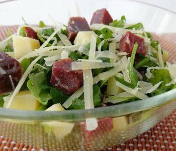 insalata bresaola asiago e rucola