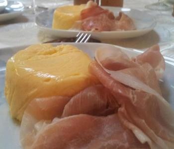 sformatini freddi di melone con prosciutto bimby