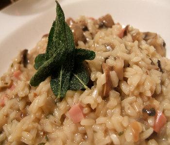 risotto con funghi, castagne e pancetta bimby