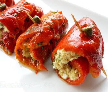 rotolini di peperoni