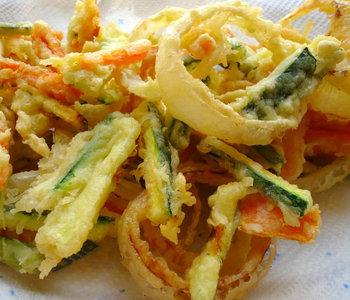 tempura di verdure ricetta giapponese
