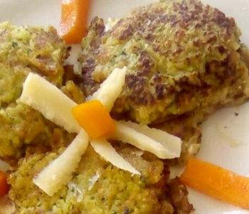 frittelle di patate e zucchine bimby