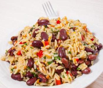 risotto con fagioli
