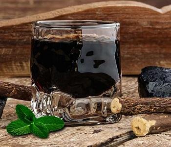 liquore alla menta e liquirizia bimby