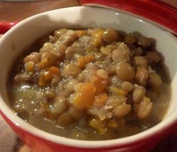 zuppa di lenticchie altoatesina