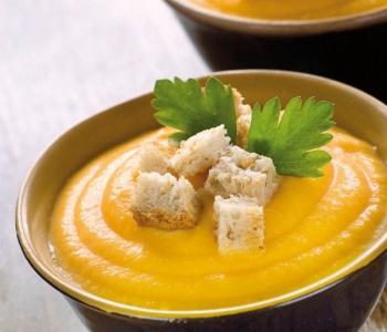 crema di patate e carote