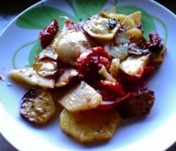 patate in tortiera