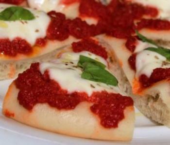 pizza margherita al vapore bimby