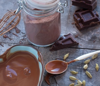 preparato per la cioccolata