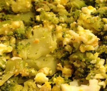 broccoli e uova bimby