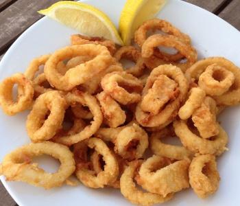 anelli di totano fritti e speziati