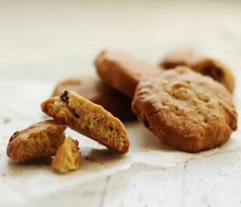 biscotti avena e sciroppo d'acero