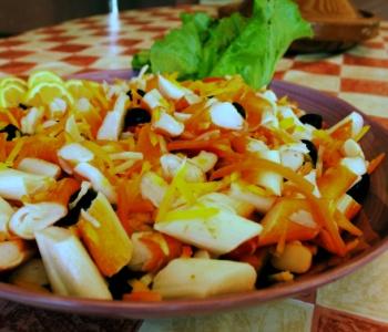 insalata estiva di surimi