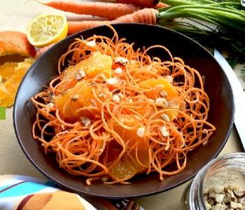 insalata carote arancia nocciole
