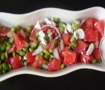 insalata fresca d'anguria