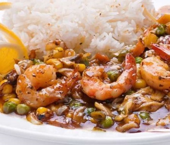 riso gamberetti salsa soia