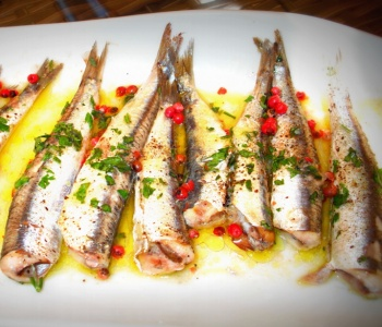 sardine al pepe rosa