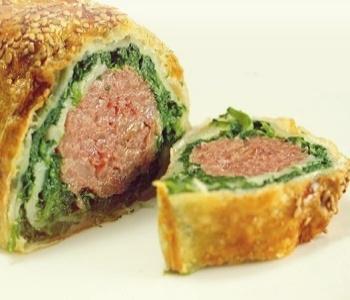 cotechino e spinaci in crosta bimby