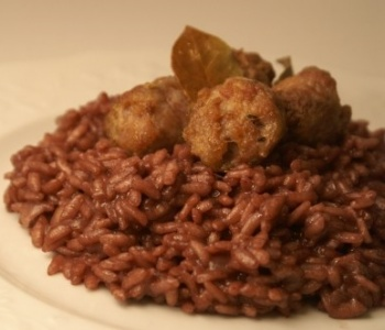 risotto castagne e salsicce