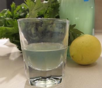 grappa limone e sedano