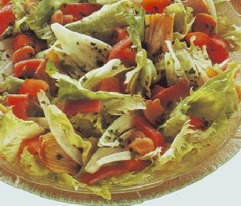 insalata di scarola all'acciuga