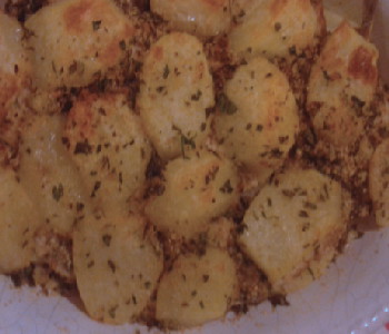 tortino di patate e alici